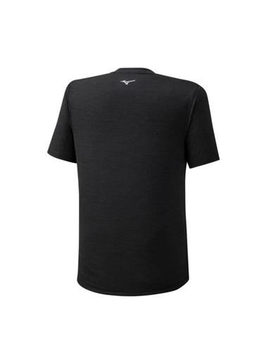 Mizuno Core Graphic Rb Tee Erkek T-Shirt Siyah Siyah